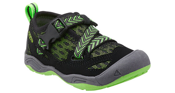 Keen Komodo Dragon Shoes Children black/jasmine green